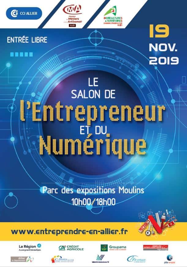Salon de l'Entrepreneur et du Numérique 2019