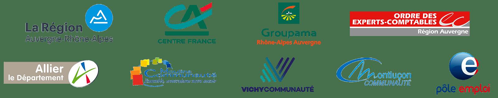 Salon de l'Entrepreneur et du Numérique 2019 - Partenaires